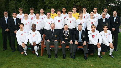 England Schoolboys' Under 18 Squad