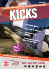 Kicks November 2007 Schools Football Magazine