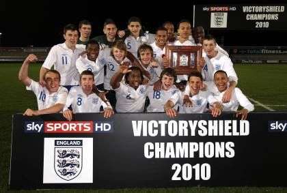 England Under 16 team retain Victory Shield 2011
