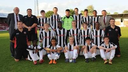 ESFA Under 14 Inter County Trophy Winners 2011 - Surrey CSFA