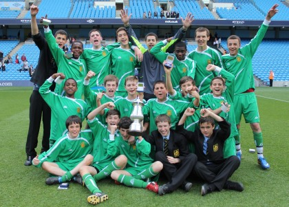 ESFA Under 14 Champions 2011 - Richard Challoner School (Kingston SFA)