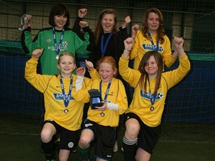 South Charnwood School - ESFA U12 5-a-side Cup Area D Champions
