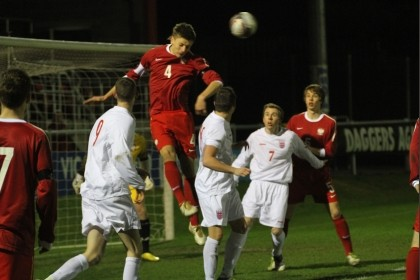 England v Poland U18 Schools' Football International 2012