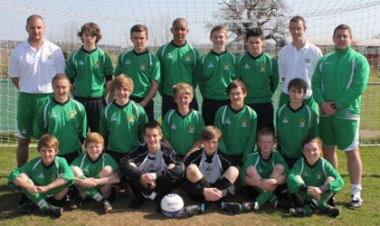 Plymouth Schools' FA Under 14 Squad 2012
