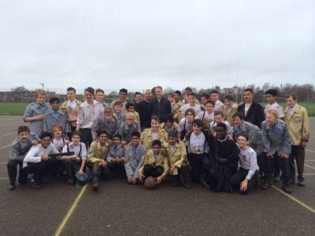 esfa football remembers archbishop temple school preston north end british council