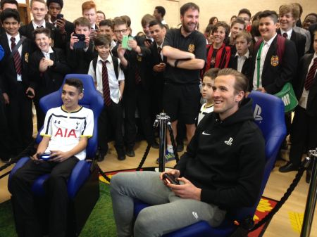 harry kane playstation esfa tie of the round dame alice owens school football grassroots spurs