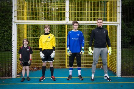 butland jack butland esfa playstation tie of the round event schools football grassroots ambassador